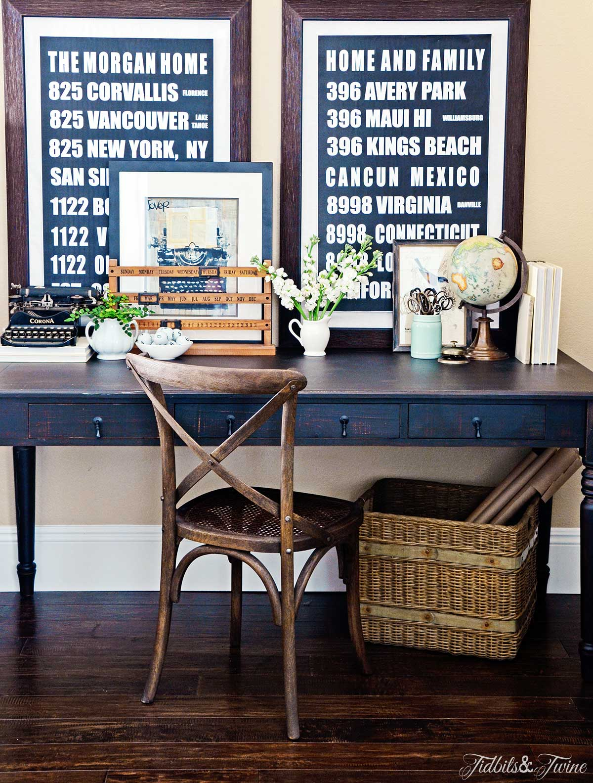 TIDBITS&TWINE-Designing a Beautiful Workspace