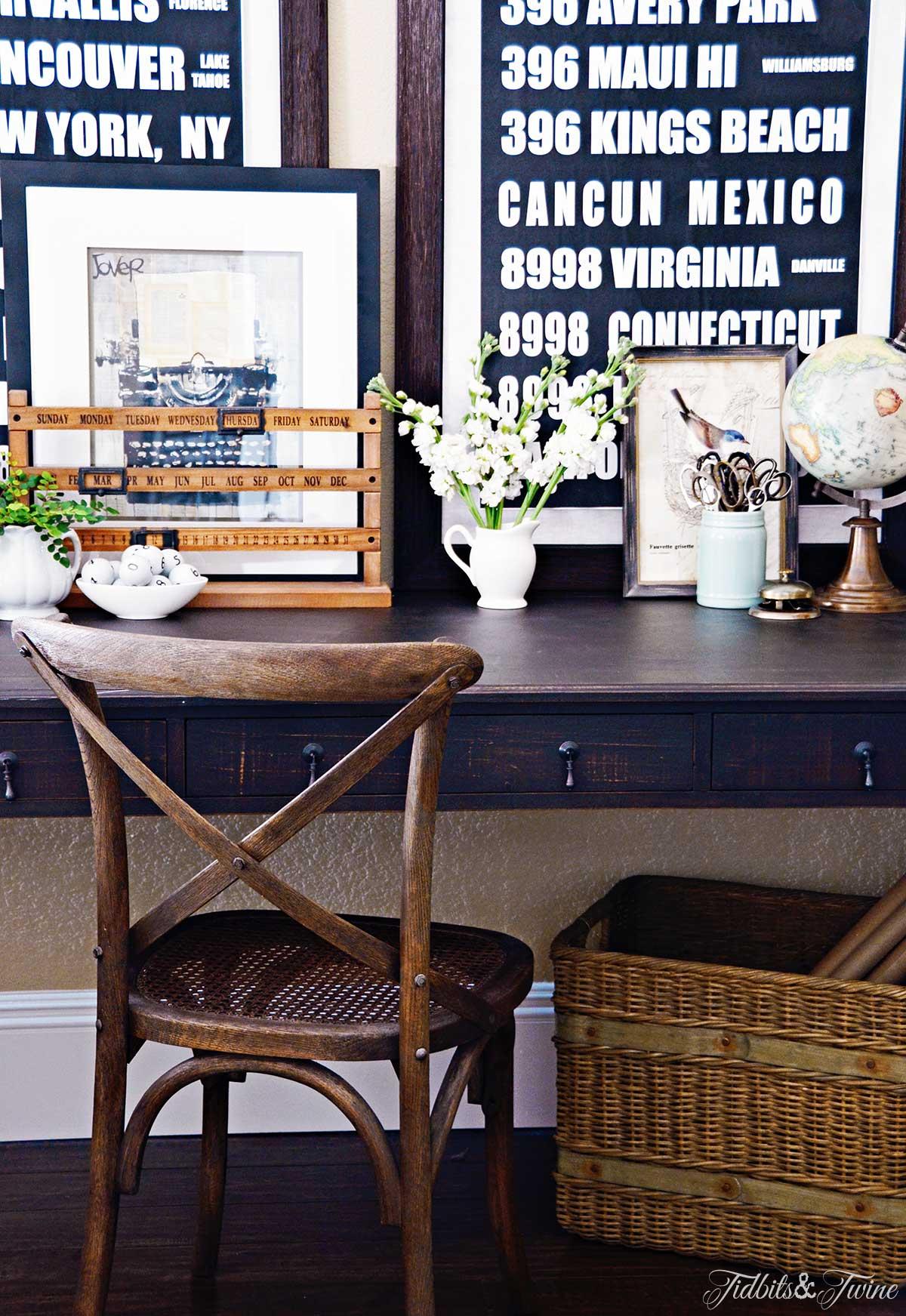 TIDBITS&TWINE-Designing a Beautiful Desk Display