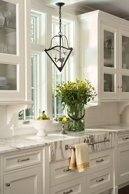 Under Cabinet Corbels In Kitchen