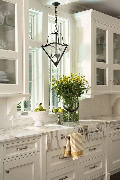 Under Cabinet Corbels In Kitchen