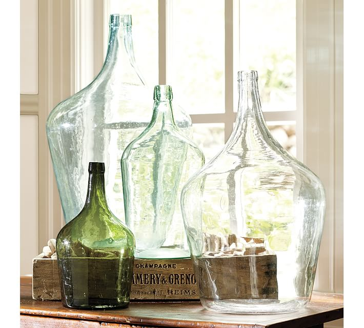 Pottery Barn Found Oversized Wine Bottles