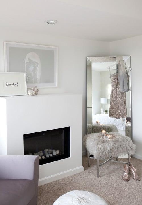 Bedroom via The Cross Interior Design