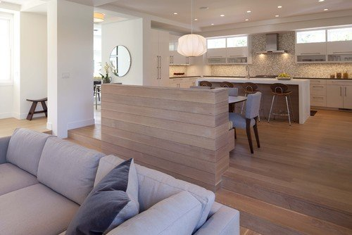 {A contemporary kitchen via Charlie & Co. Design}