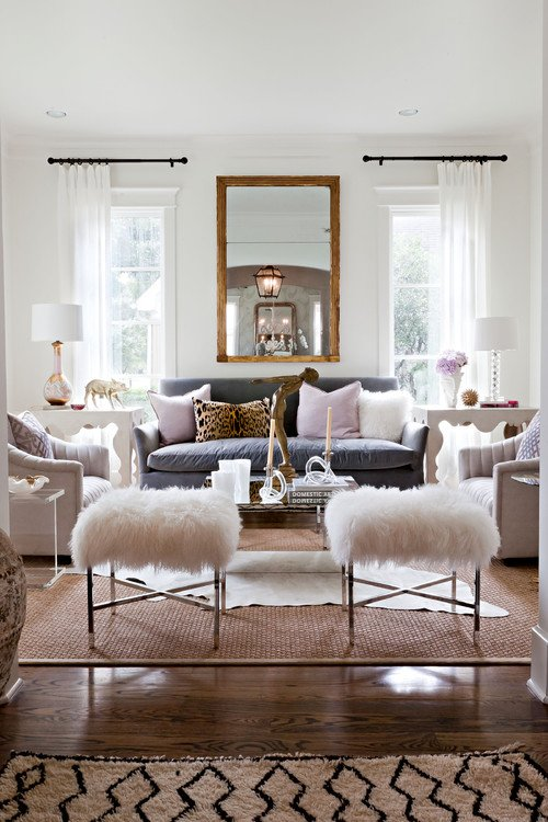 Living Room via Sally Wheat Interiors