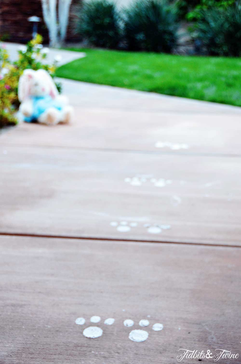 TIDBITS&TWINE - Easter Bunny Footprints