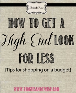 Get a High-End Look for Less