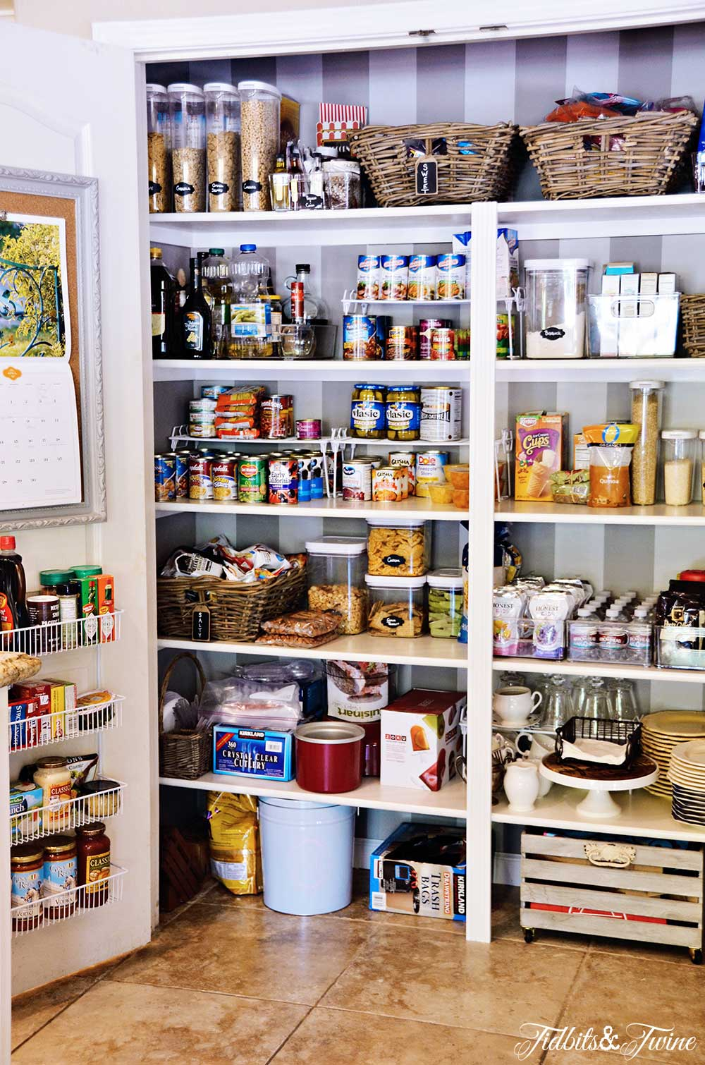 TIDBITS&TWINE Pantry Makeover Finished Project