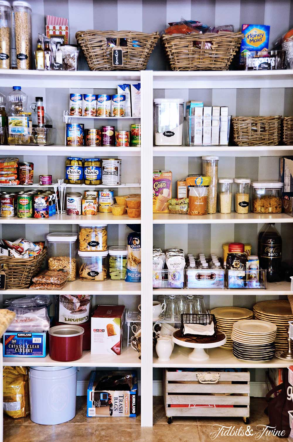 TIDBITS&TWINE Pantry Makeover Reveal