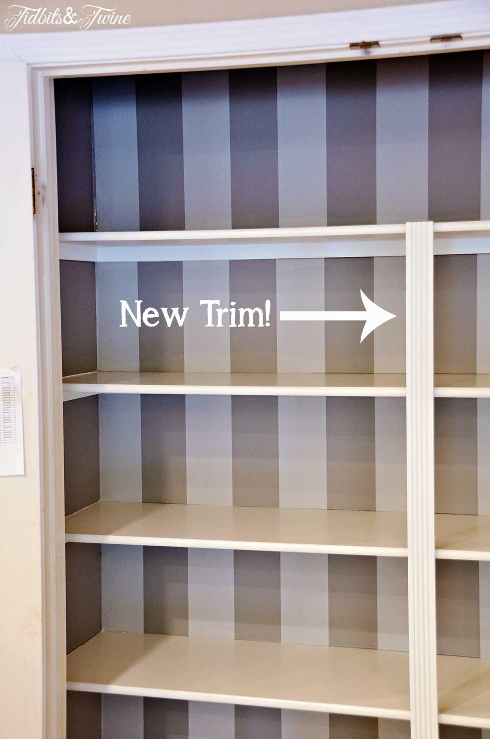 TIDBITS&TWINE Pantry Wallpaper
