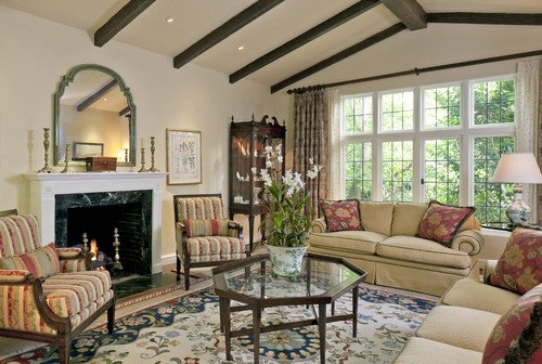 {Traditional Living Room via Houzz}