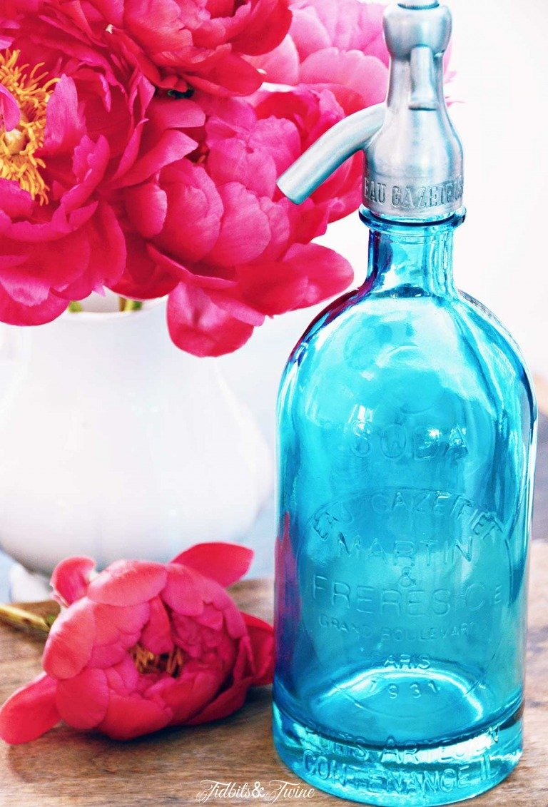 Decorating with: Seltzer Bottles