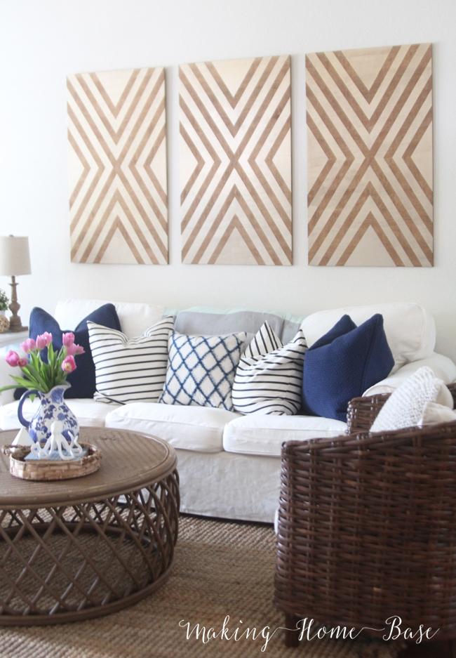 Making Home Base Living Room