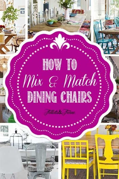 How to Mix & Match Dining Chairs
