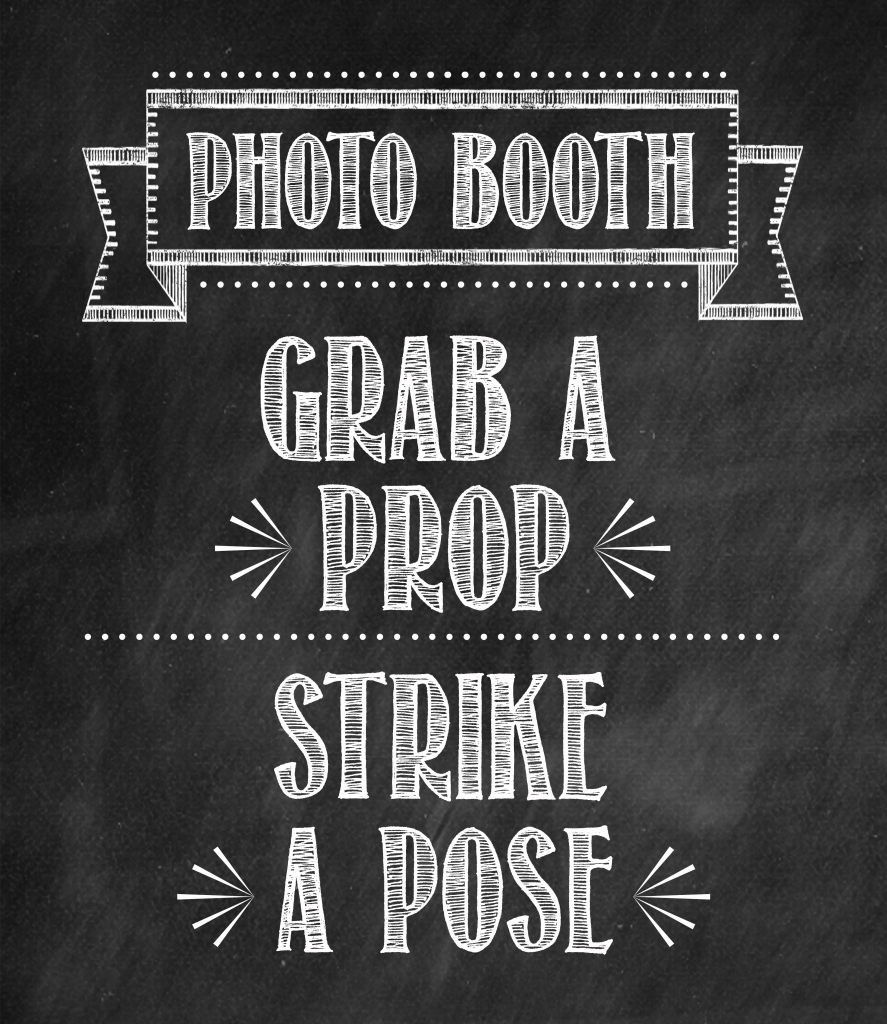 Tidbits&Twine Photo Booth Sign
