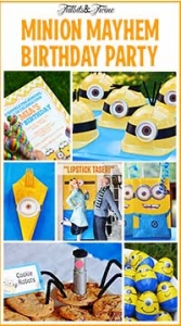 How to Throw a Despicable Me Minion Party