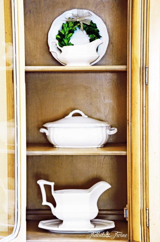TIDBITS-&-TWINE---Dining-Hutch-Ironstone-Display