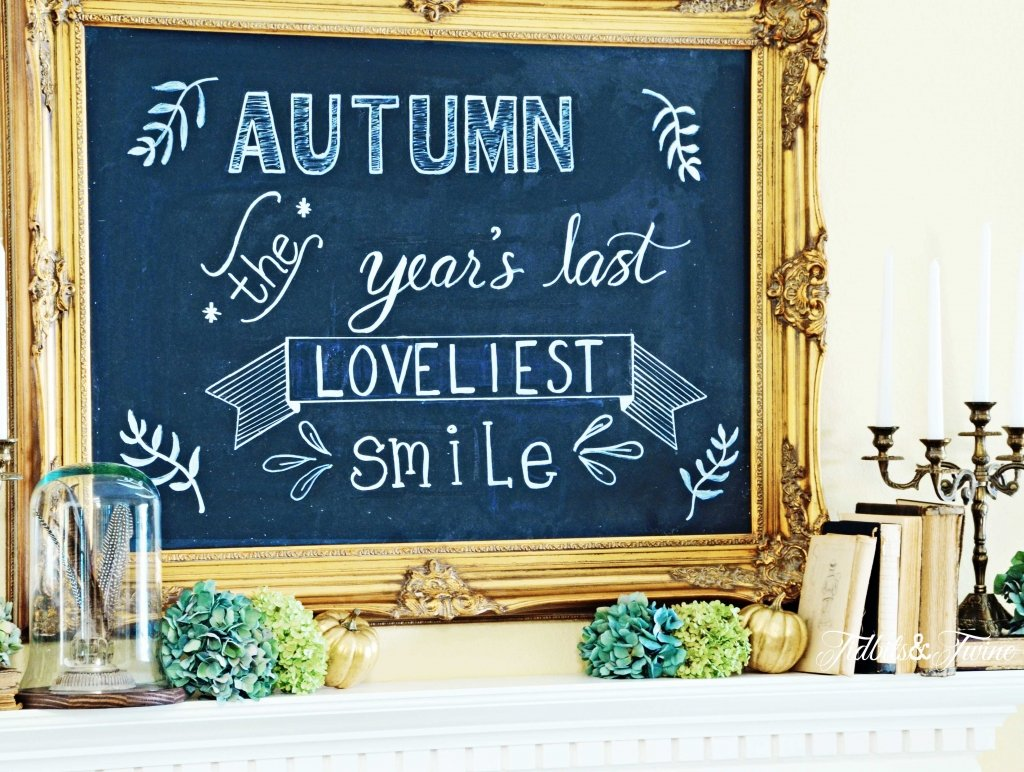 TIDBITS-&-TWINE-Living-Room-Fall-Chalkboard-Mantel-2