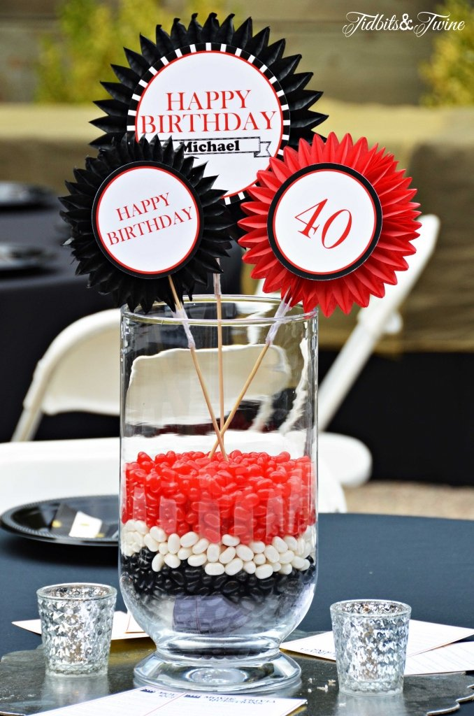 TIDBITS&TWINE---40th-Birthday-Centerpieces