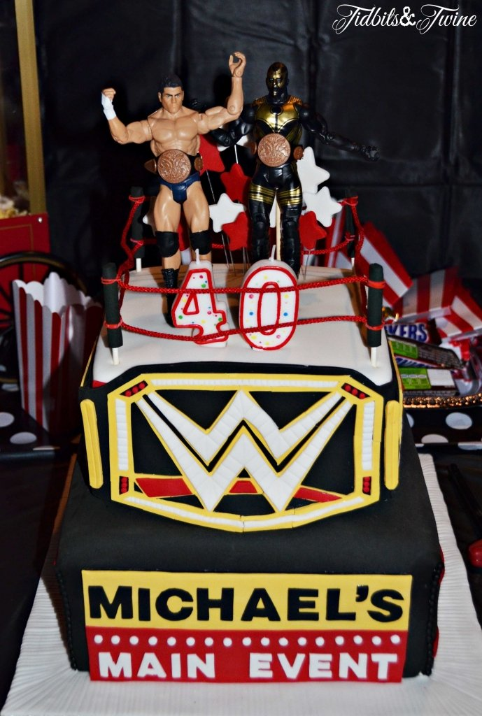 TIDBITS&TWINE---40th-Birthday-WWE-Wrestling-Cake
