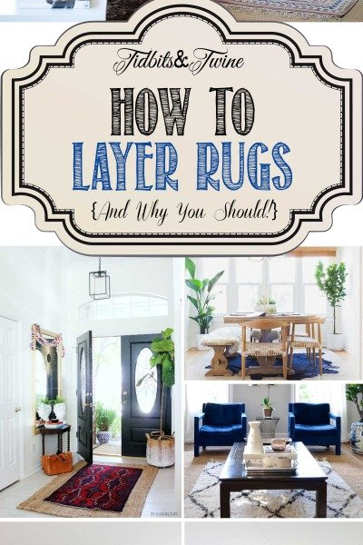 Get the Look: Layered Rugs {How to Layer Rugs Like a Pro!}