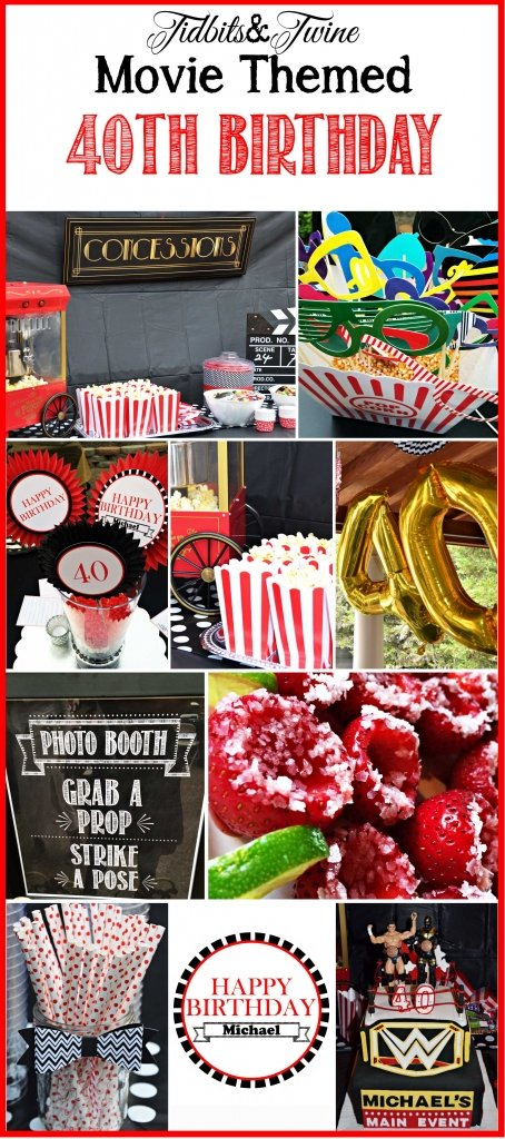 TIDBITS&TWINE---Movie-Themed-40th-Birthday-for-a-Guy