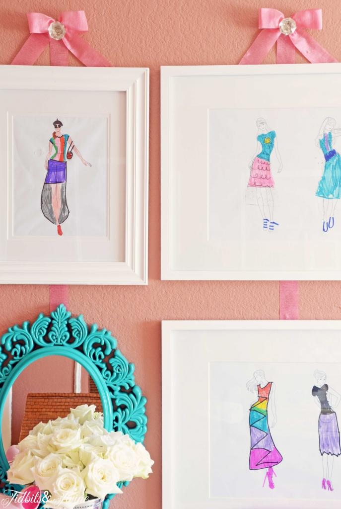TIDBITS-&-TWINE-Girl-Room-Fashion-Gallery-Wall