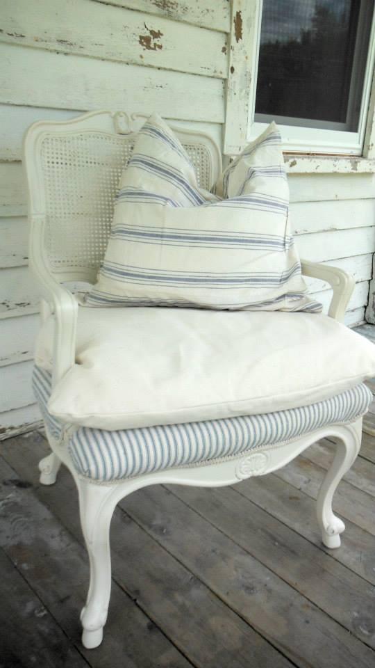 Design Idea 1 Chair 2 Fabrics Tidbits Amp Twine