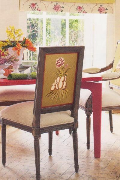 Design Idea: 1 Chair + 2 Fabrics