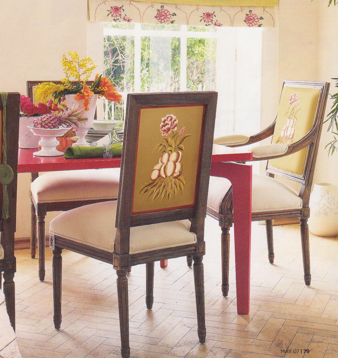 Design Idea: 1 Chair + 2 Fabrics - TIDBITS&TWINE
