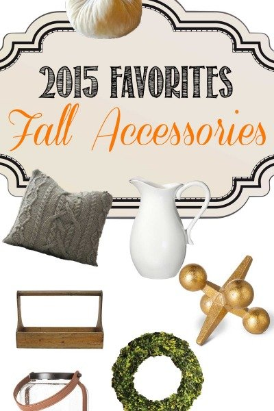 Favorite Fall Finds for 2015