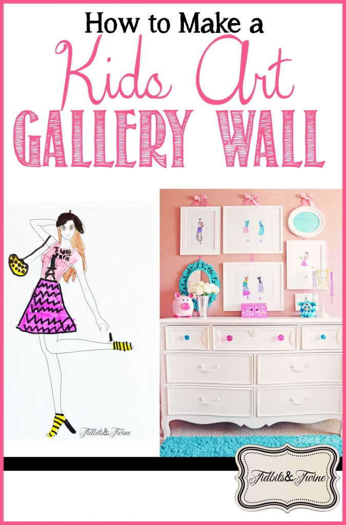 TIDBITS-&-TWINE---How-to-Make-a-Kids-Art-Gallery-Wall