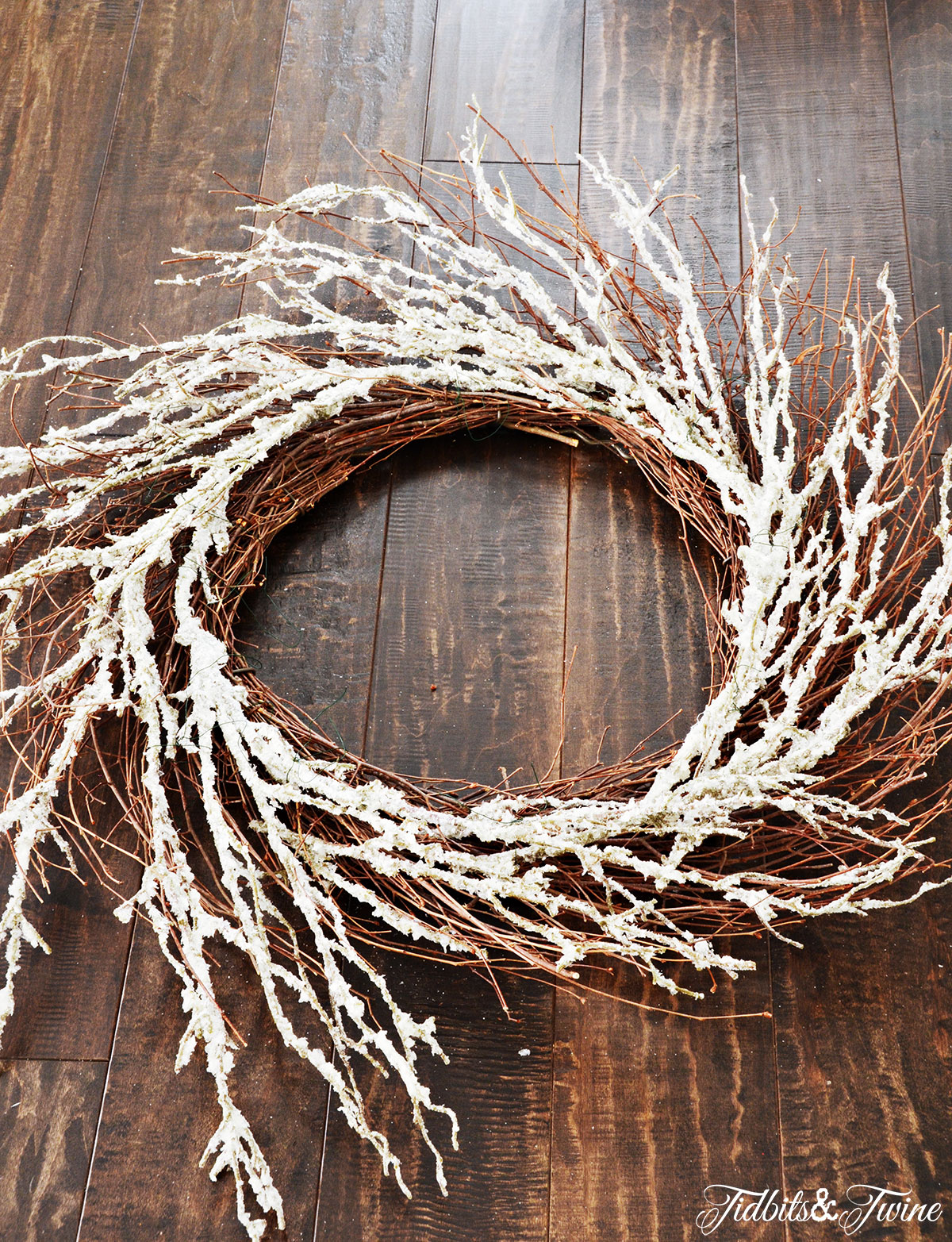 TIDBITS-&-TWINE---DIY-Boxwood-Christmas-Wreath-Step-2