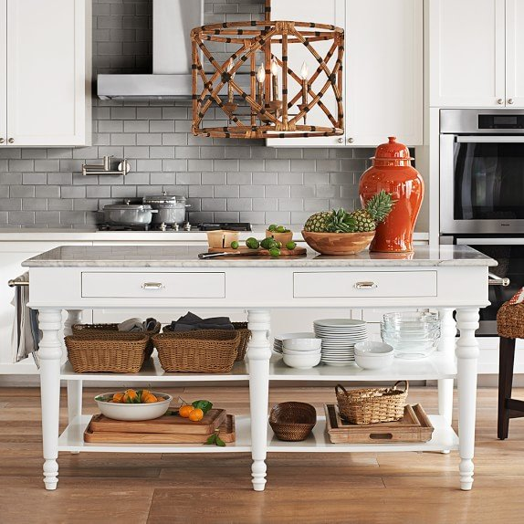 Design Inspiration Freestanding Kitchen Islands Tidbits