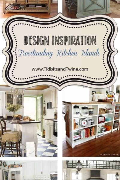 Design Inspiration: Freestanding Kitchen Islands