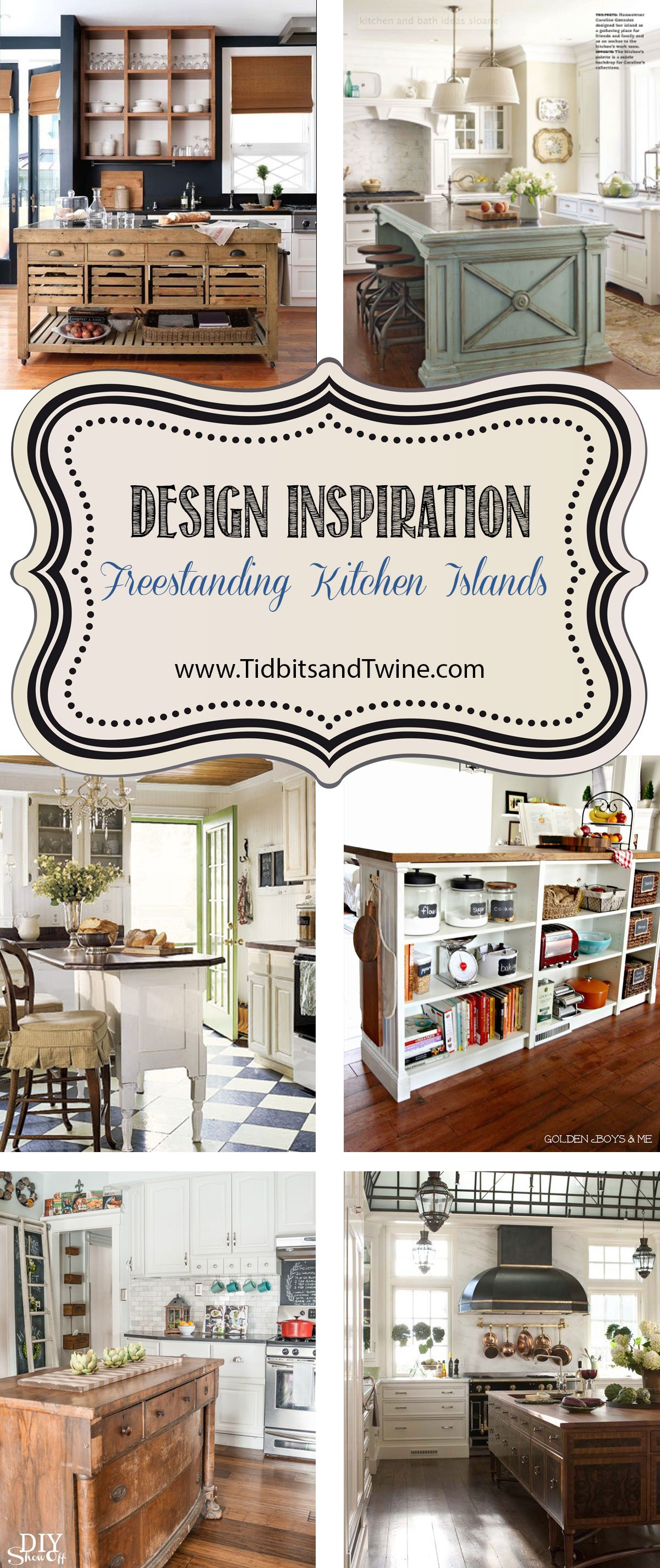 freestanding kitchen islands tidbits u0026twine