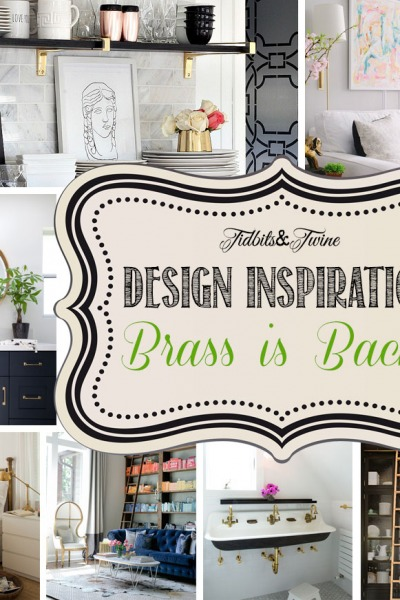 Design Inspiration: Brass is Back!