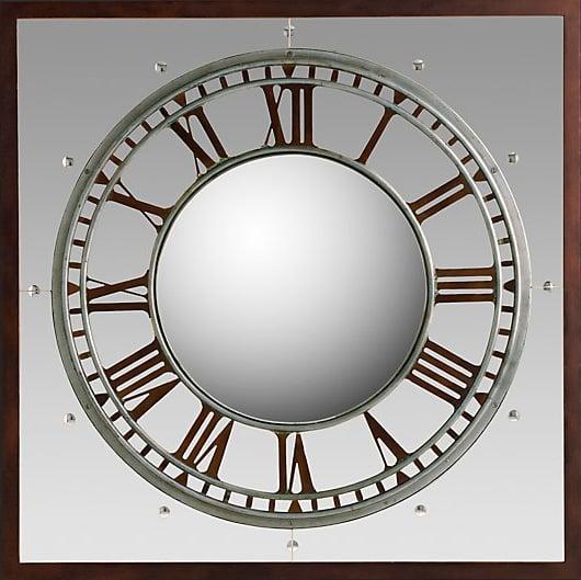 RH Convex Clock Mirror