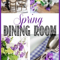 Spring French dining room