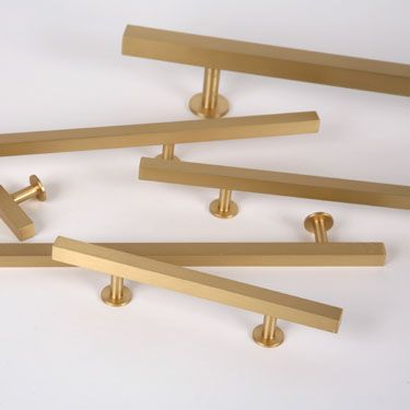 Gold Drawer Pull