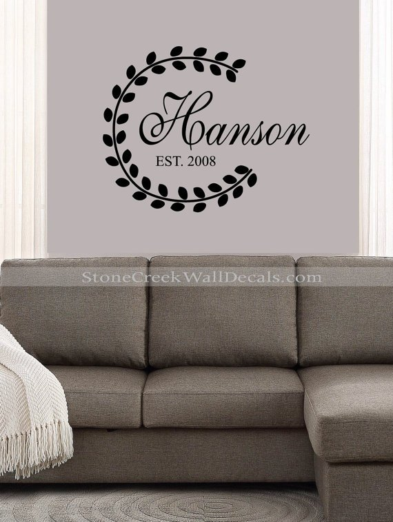 Stone Creek Wall Decals Family Decal