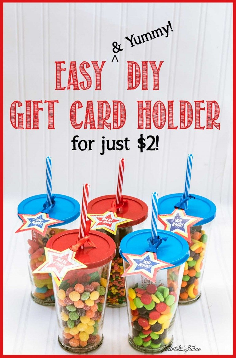 Cute DIY Gift Card Holder {Perfect for Kids!}