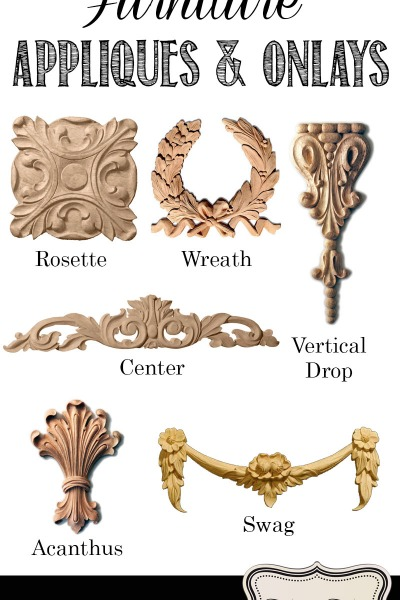 Decorating with Furniture Appliques and Onlays