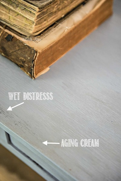 Console Table Chalk Paint Makeover