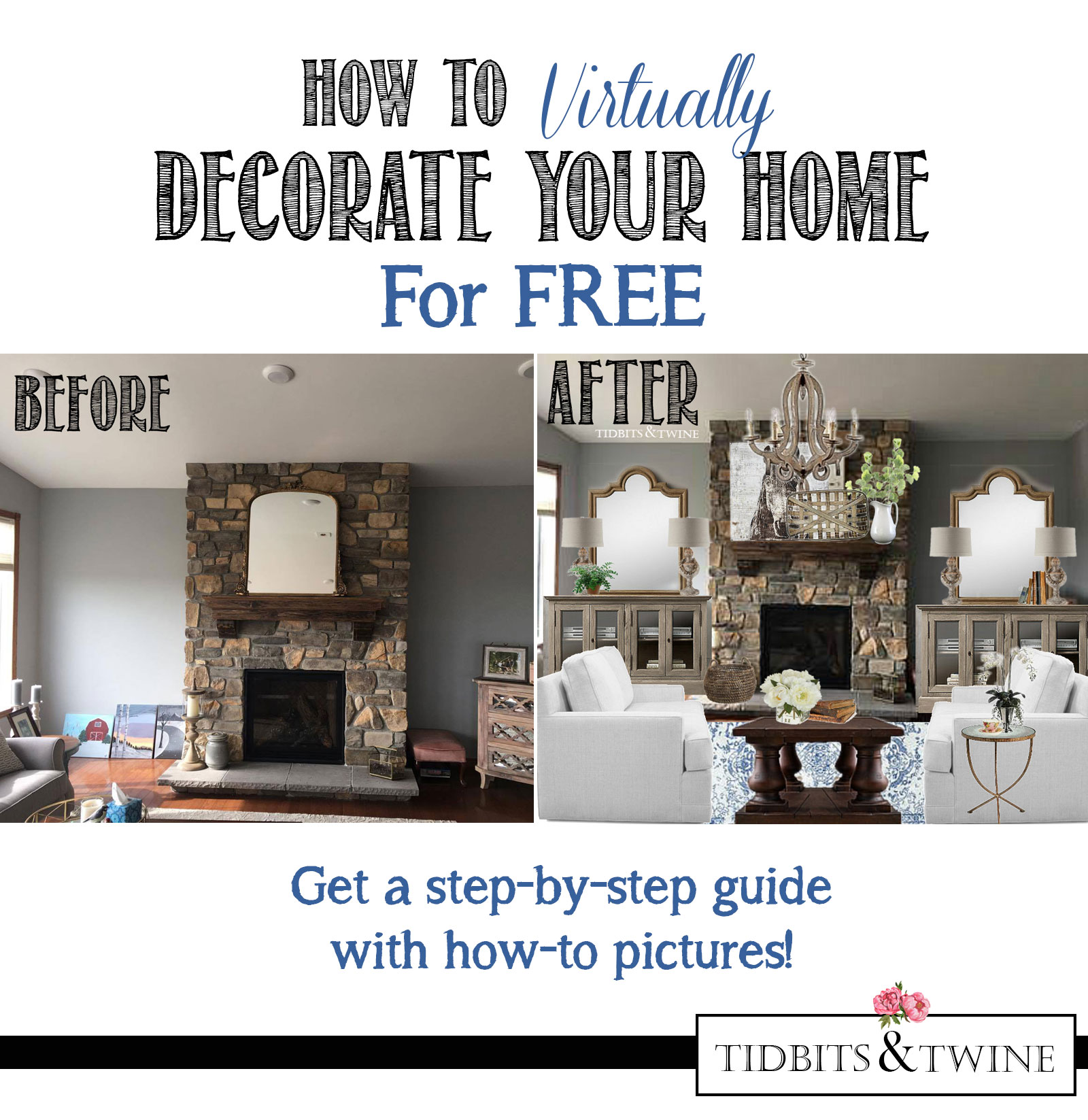 How To Virtually Decorate Your Home