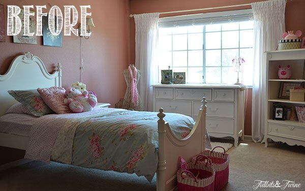 French Pink Girls Room