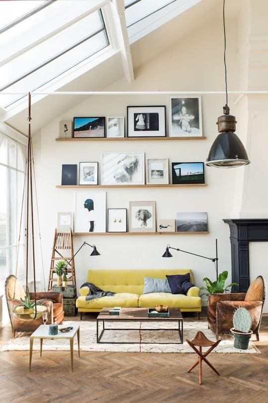 28 Creative Decorating Ideas for Tall Walls | TIDBITS&TWINE