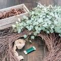 a simple diy fall wreath using eucalyptus