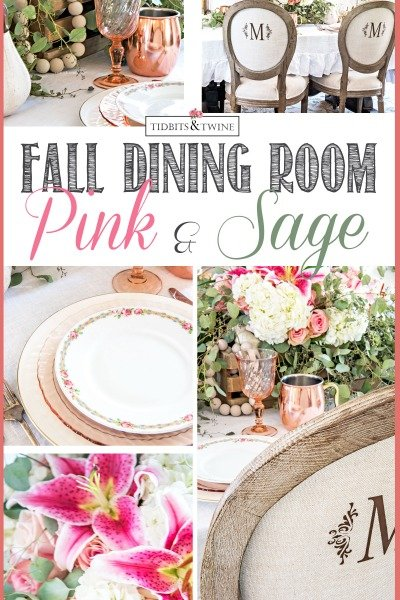 2017 Fall Dining Room Tour