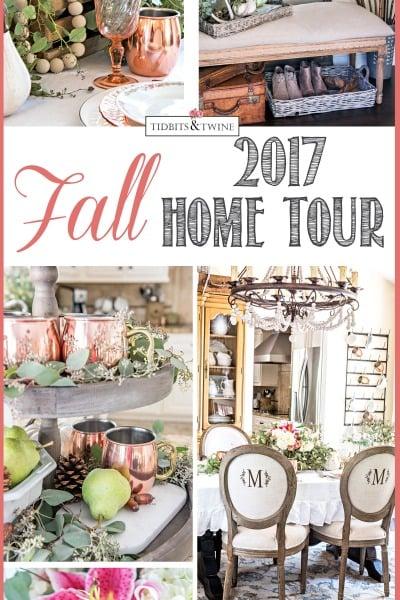 Tidbits&Twine Fall Home Tour 2017