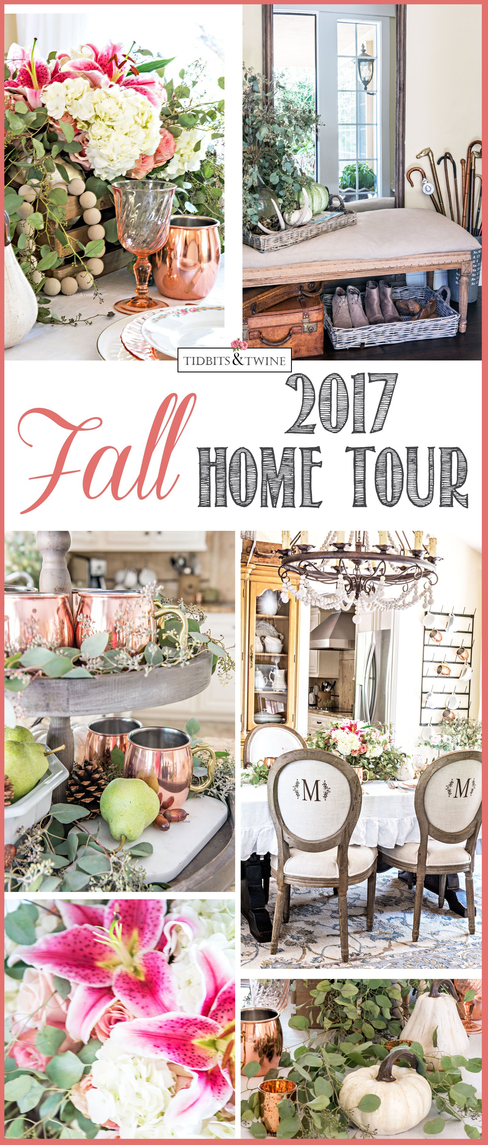 Tidbits&Twine Fall Home Tour 2017